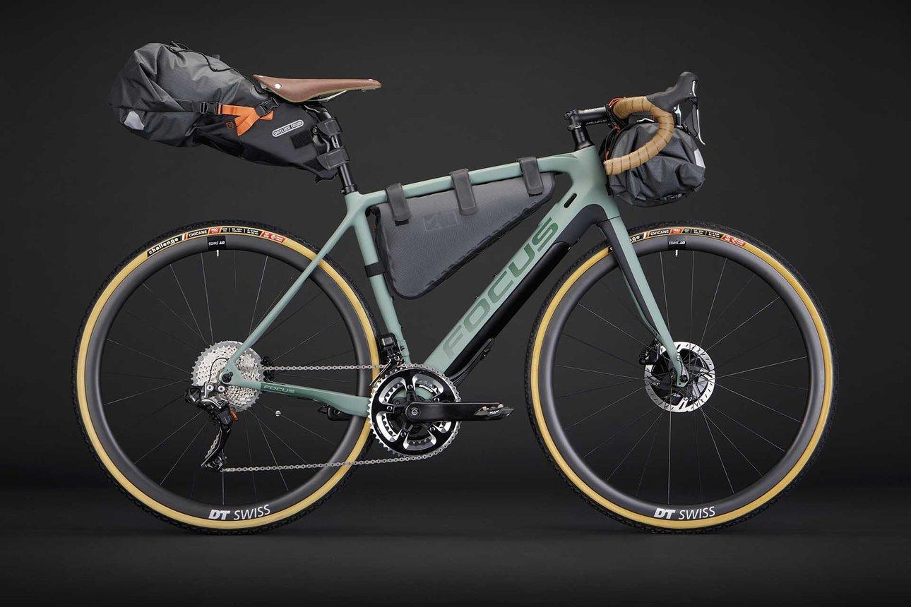 Шоссейный велосипед с мотором